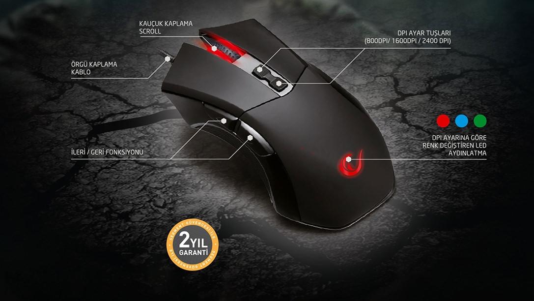 Gaming Mouse & Oyuncu Mouse Fiyatları ve Modelleri